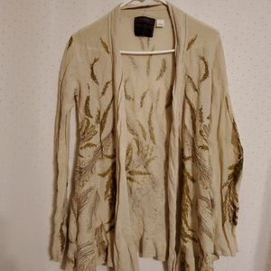 Anthro Guinevere | Feather Cardigan